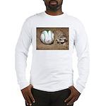 Meerkat With Soccer Ball Long Sleeve T-Shirt