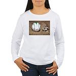 Meerkat With Soccer Ball Women's Long Sleeve T-Shi
