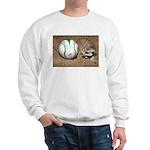 Meerkat With Soccer Ball Sweatshirt