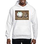 Meerkat With Soccer Ball Hooded Sweatshirt