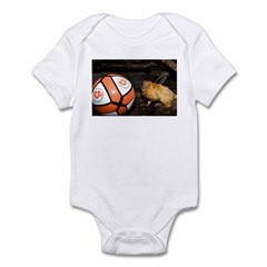 Golden Lion Tamarin with Volleyball Infant Bodysui