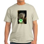 Porcupine with Shamrock Light T-Shirt