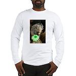 Porcupine with Shamrock Long Sleeve T-Shirt