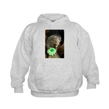 Porcupine with Shamrock Kids Hoodie