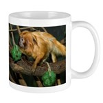 Golden Lion Tamarin with Shamrock Mug