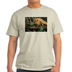 Golden Lion Tamarin with Shamrock Light T-Shirt
