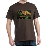 Golden Lion Tamarin with Shamrock Dark T-Shirt