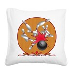 Strike Square Canvas Pillow