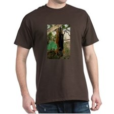 Red Ruffed Lemur with Shamrock Dark T-Shirt