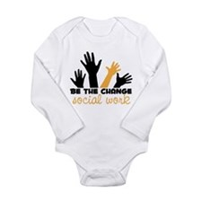 BeThe Change Long Sleeve Infant Bodysuit