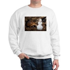 Elephant Shrew with Snowman Sweatshirt