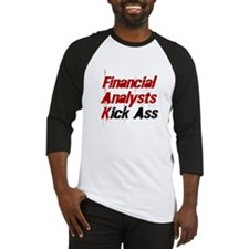 Financial Analysts Kick Ass Baseball Jersey
