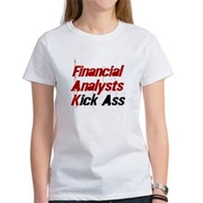 Financial Analysts Kick Ass Tee