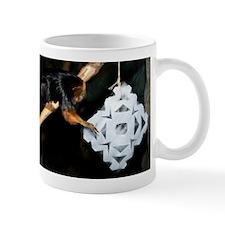 Golden Headed Lion Tamarin Grabbing Snowflake Mug
