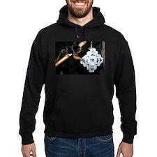Golden Headed Lion Tamarin Grabbing Snowflake Hood