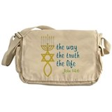 John 14:6 Messenger Bag