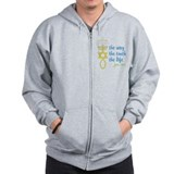 John 14:6 Zipped Hoody