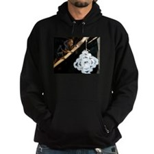 Golden Headed Lion Tamarin With Snowflake Hoodie (