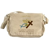 Micah 6:8 Messenger Bag