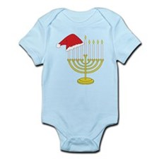 Hanukkah And Christmas Infant Bodysuit