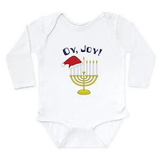 Oy, Joy! Long Sleeve Infant Bodysuit