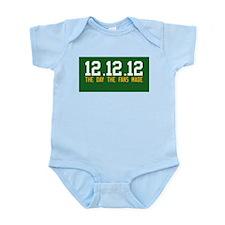 12.12.12 Alternate style Infant Bodysuit