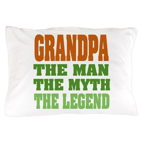 Grandpa The Legend Pillow Case