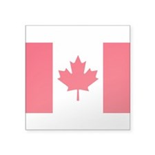 "Canadian flag sticker (5""x3"") Sticker"