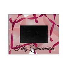 Rosa Feliz Quinceanera 15th Birthday Picture Frame
