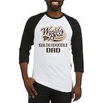 Goldendoodle Dog Dad Baseball Jersey