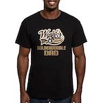Goldendoodle Dog Dad Men's Fitted T-Shirt (dark)