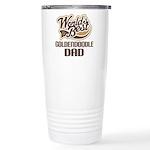 Goldendoodle Dog Dad Ceramic Travel Mug