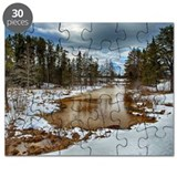 Marshland Wildlife Drive Winter Puzzle