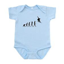 Snowboard Grab Evolution Infant Bodysuit