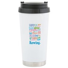 Rowing Ceramic Travel Mug