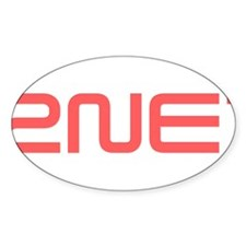 2NE1 red logo Decal