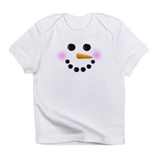 Snowman Face Infant T-Shirt