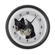 Unique Breeds Large Wall Clock