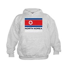 North Korea Flag Stuff Hoodie