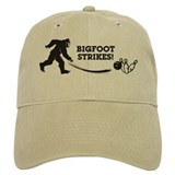 Bigfoot Strikes! Baseball Cap