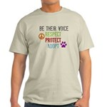 Respect Protect Adopt Light T-Shirt