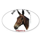 Mule Addict Rectangle Decal