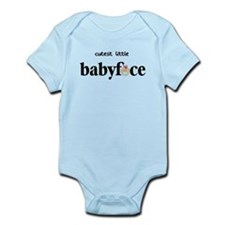 Cutest Little Baby Face - Girl Infant Bodysuit