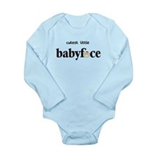 Cutest Little Baby Face Boy Long Sleeve Infant Bod