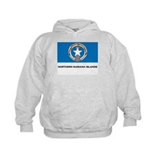 The Northern Mariana Islands Flag Merchandise Hoodie