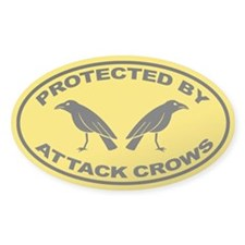 Protected By Attack Crows Decal