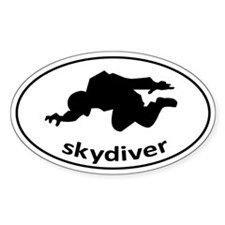 Skydiver Auto Decal