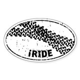 I Ride Auto Decal