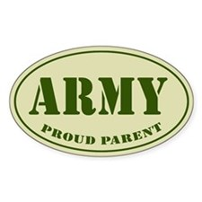 Proud Army Parent Auto Decal