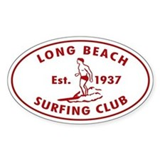 Long Beach Surfing Club Decal
